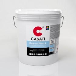 Pittura Al Quarzo Murale Bianco Ad Effetto Bucciato Opaco