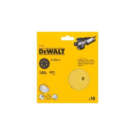 DISCO ABRASIVO ROTO-ORBITALE 150 MM GR 320 DE WALT