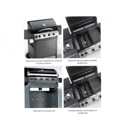 BARBEQUE GAS EXPERT ECO 5