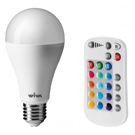 Lampada Led Multifunzione Con Telecomando E27 10w