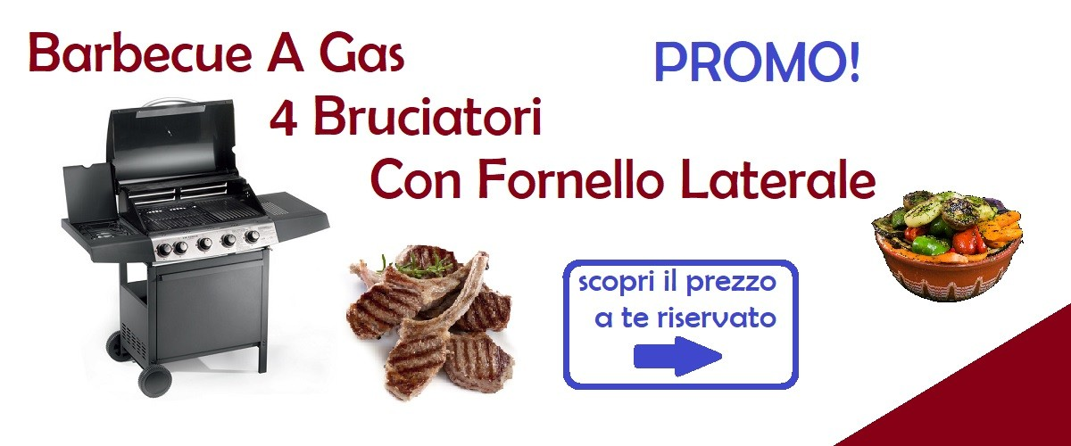 Barbecue a gas in offerta